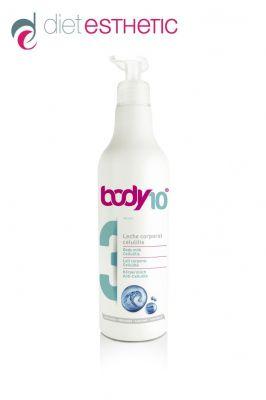 BODY 10 № 3 - антицелулитно мляко за тяло Diet Esthetic, 500 ml