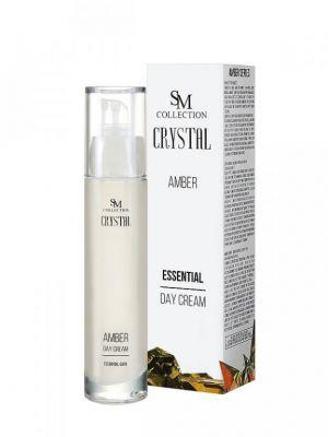 Дневен крем за лице с Кехлибар - 100% натурален, 50 ml