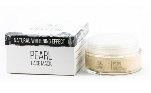 Маска за лице с Перли - 100% натурална, 100 ml