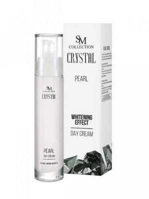 Дневен крем за лице с Перли - 100% натурален, 50 ml
