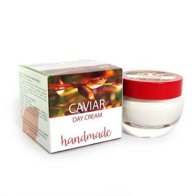 Дневен крем за лице с Хайвер - ръчно приготвен - 100% натурален, 50 ml