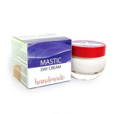 Дневен крем за лице с Бяла дъвка - ръчно приготвен - против бръчки, 50 ml