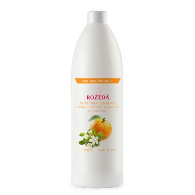 ROZEDA - Портокалова вода за лице, натурален продукт, 1000 ml