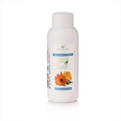 Тоалетно мляко за почистване на лице, очи и устни с екстракт от Невен, 150 ml