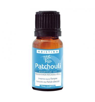 Етерично масло ПАЧУЛИ (pogostemon patchouli pell.), 10 ml