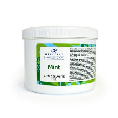 Aнтицелулитен гел с Мента - за професионална употреба, 500 ml