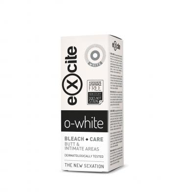 EXCITE O-WHITE - гел за облекчаване на хиперпигментацията в интимните зони Diet Esthetic, 50 ml