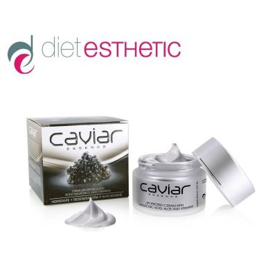 Крем за лице Diet Esthetic, 50 ml - с Хайвер и Хиалуронова киселина, антистареещ