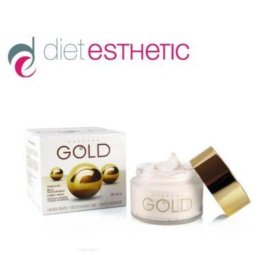 Крем за лице Diet Esthetic, 50 ml - с чисто Злато, антистареещ, SPF 15