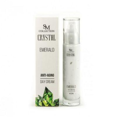Крем за лице Sezmar Collection Crystal, 50 ml - с прах от Изумруди, дневен