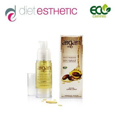 Серум за лице Diet Esthetic, 30 ml - 100% натурално Aрганово масло, за лице и коса, airless