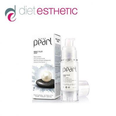Серум за лице Diet Esthetic, 30 ml - с Микро Перли, за гладка и еластична кожа, филър, airless
