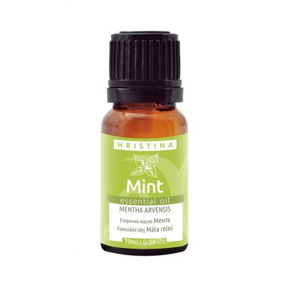 Етерично масло Козметика Христина, 10 ml - Мента (mentha arvensis)