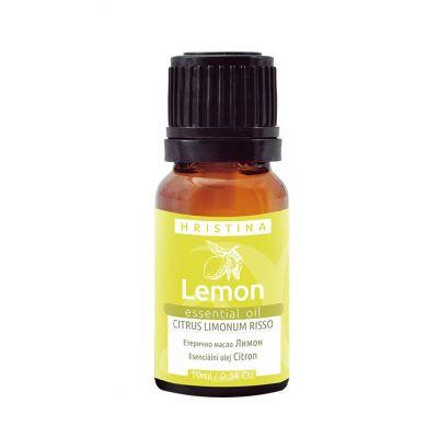 Етерично масло Козметика Христина, 10 ml - Лимон (citrus limonum risso)