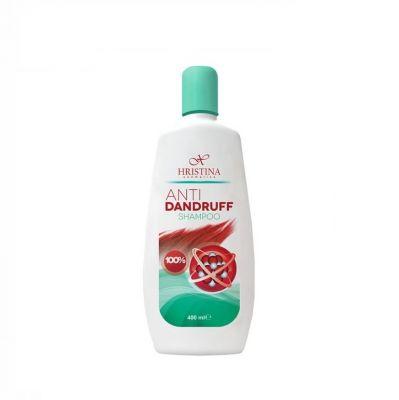 Шампоан за коса Козметика Христина, 400 ml - против пърхут