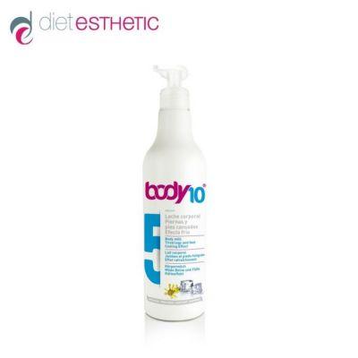 Мляко за тяло Diet Esthetic Body 10 №5 , 500 ml - за уморени крака и стъпала, охлаждащо