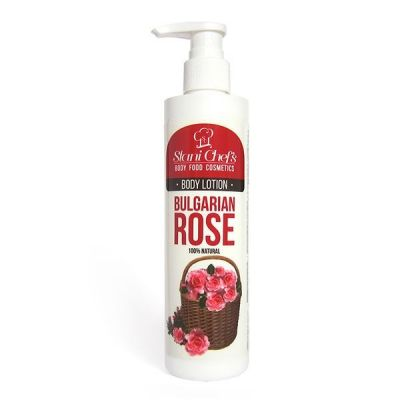 Лосион за тяло Stani Chef's Body Food, 250 ml - Българска роза