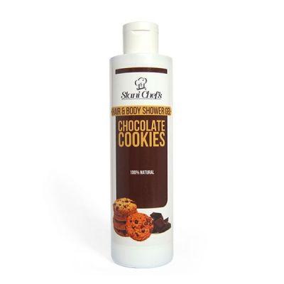 Душ-гел за коса и тяло Stani Chef's Body Food, 250 ml - Шоколадови бисквитки
