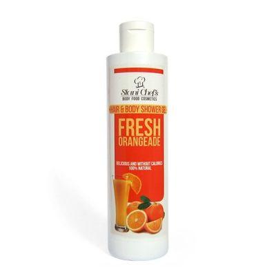 Душ-гел за коса и тяло Stani Chef's Body Food, 250 ml - Свежа Оранжада
