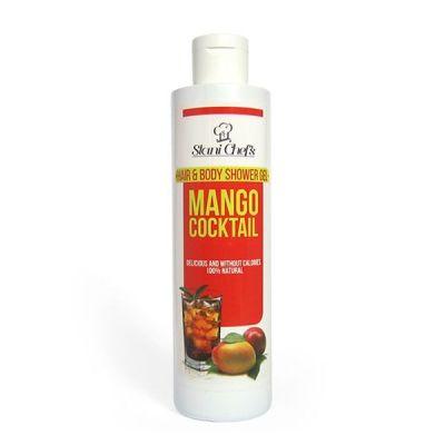 Душ-гел за коса и тяло Stani Chef's Body Food, 250 ml - Коктейл Манго