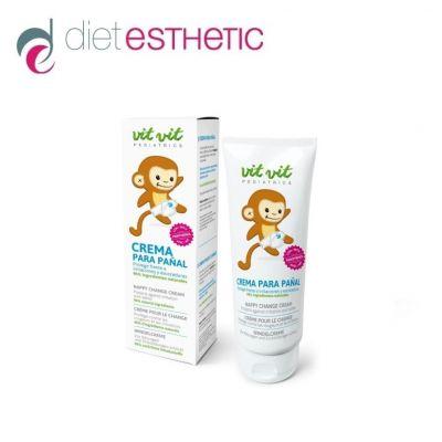 Бебешки крем Diet Esthetic VIT VIT Pediatrics, 100 ml - против подсичане, раздразнения и обриви