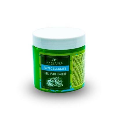 Aнтицелулитен гел Козметика Христина, 200 ml - с Мента