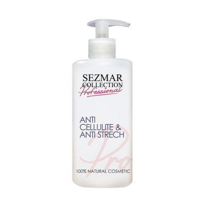 Професионално масажно масло за тяло Sezmar Professional, 500 ml - с Ананас, против целулит и стрии