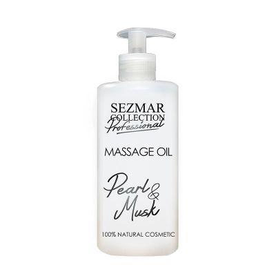 Професионално масажно масло за тяло Sezmar Professional, 500 ml - Перла & Мускус