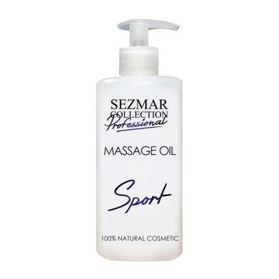 Професионално масажно масло за тяло Sezmar Professional, 500 ml - Спорт