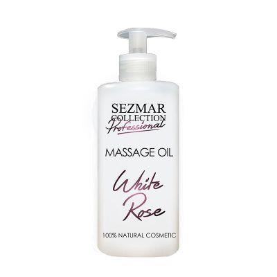 Професионално масажно масло за тяло Sezmar Professional, 500 ml - Бяла роза