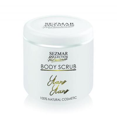 Професионален пилинг за тяло Sezmar Professional, 500 ml - Иланг-Иланг