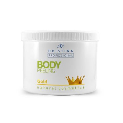 Професионален пилинг за тяло Козметика Христина, 500 ml - Злато
