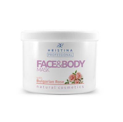 Професионална маска за тяло Козметика Христина, 500 ml - Българска роза