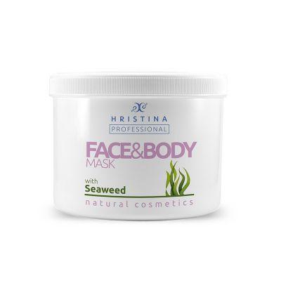 Професионална маска за тяло Козметика Христина, 500 ml - Водорасли