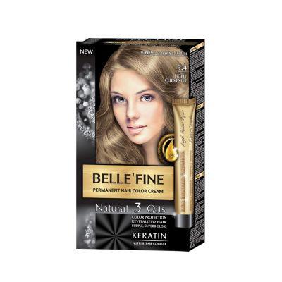 Крем-боя за коса Belle`Fine № 5.4 - светъл кестен