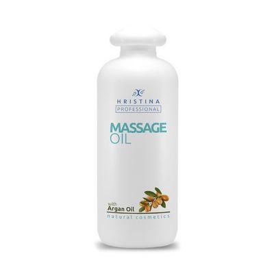 Професионално масажно масло за тяло Козметика Христина, 500 ml - Арганово масло