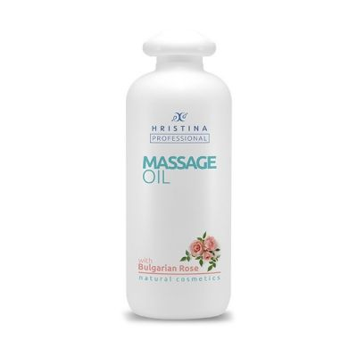Професионално масажно масло за тяло Козметика Христина, 500 ml - Българска Роза