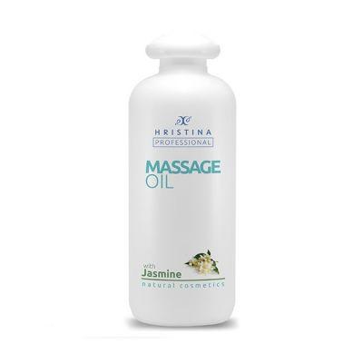 Професионално масажно масло за тяло Козметика Христина, 500 ml - Жасмин