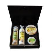 Подаръчен комплект Stani Chef - Храна за тяло, 4 части - Ананас