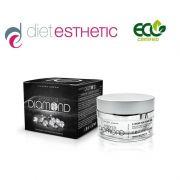 Крем за лице Diet Esthetic, 50 ml - луксозен, с 0.05 карата Диаманти, 10 ефекта, SPF6