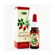 Шипково масло Wellness Product, 10 ml - за лице и тяло, 100% натурално