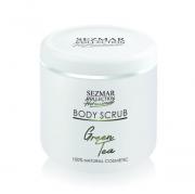 Професионален пилинг за тяло Sezmar Professional, 500 ml - Зелен чай